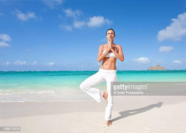 Woman doing exercising