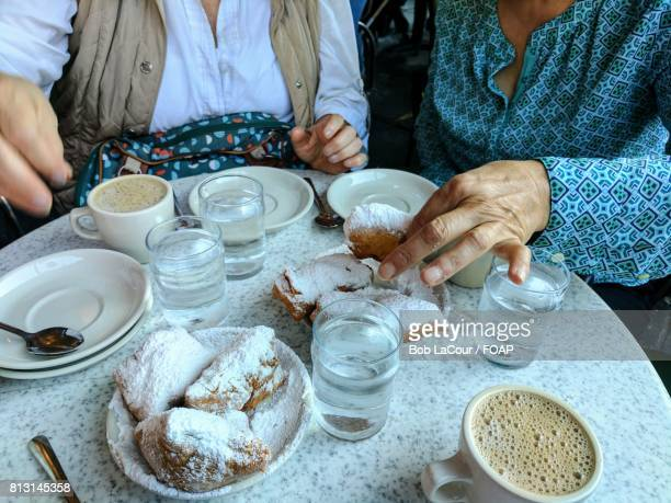 Woman doing her breakfast