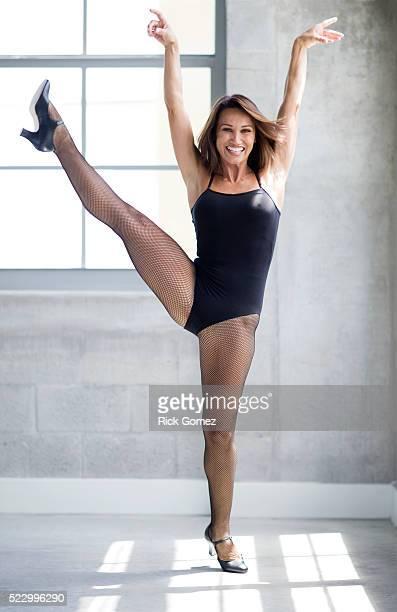 Woman Doing High Kick