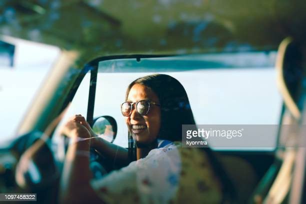 woman driver - test drive stock pictures, royalty-free photos & images