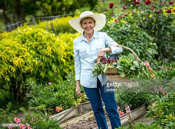 Woman enjoying her retirement