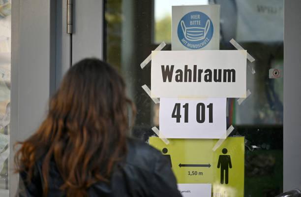 DEU: Armin Laschet, CDU/CSU Chancellor Candidate, Votes In Federal Elections