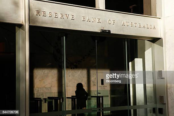 A woman enters the Reserve Bank of Australia headquarters in Sydney Australia on Monday July 4 2016 Australia's failure to make a decisive political...