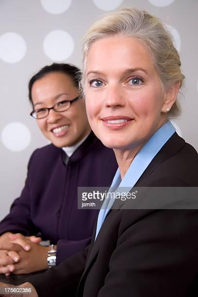 Woman executives