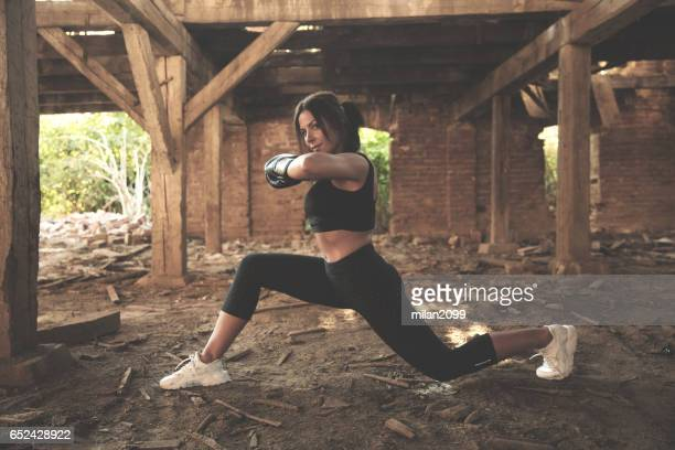 woman exercising - milan2099 stock photos and pictures