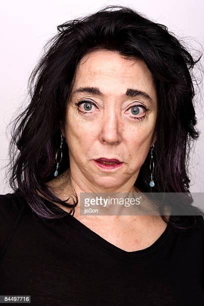 Woman face, close-up portrait