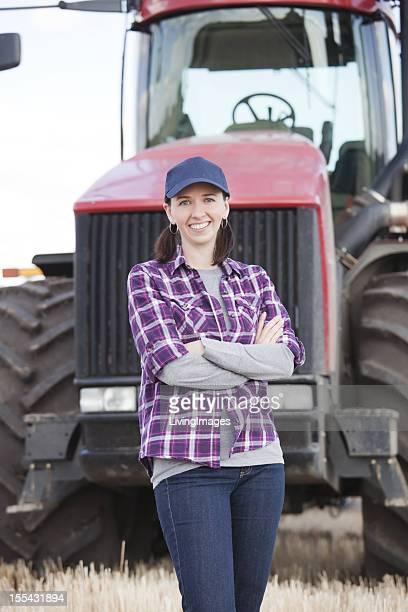 Frau Landwirtschaft