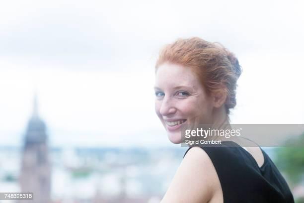 woman, freiburg im breisgau, baden-wurttemberg, germany - sigrid gombert stock pictures, royalty-free photos & images