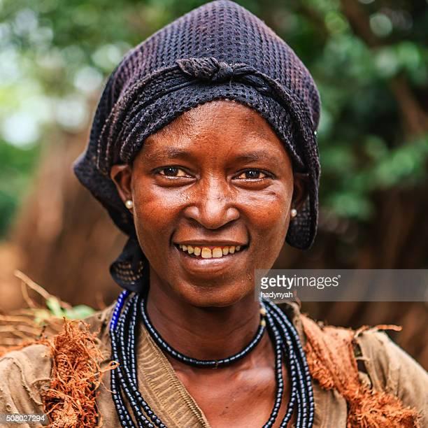 Femme de Konso tribe, Éthiopie, Afrique