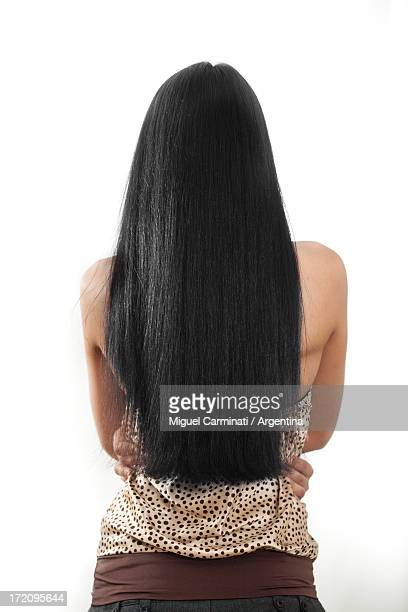 woman  from kyrgyztan - 黒髪 ストックフォトと画像