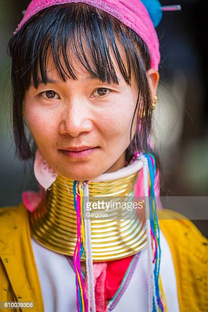 Woman from long neck Karen Tribe in Thailand