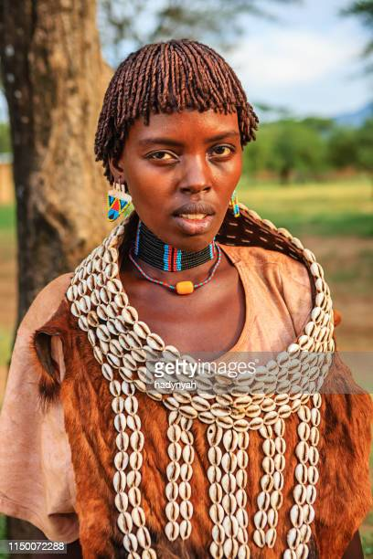 Woman from Samai tribe, Ethiopia, Africa