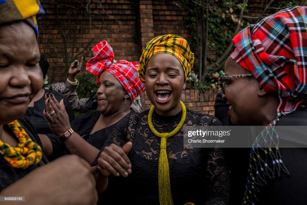 South Africans Celebrate The Life Of Winnie Mandela Ahead Of Her Funeral : News Photo