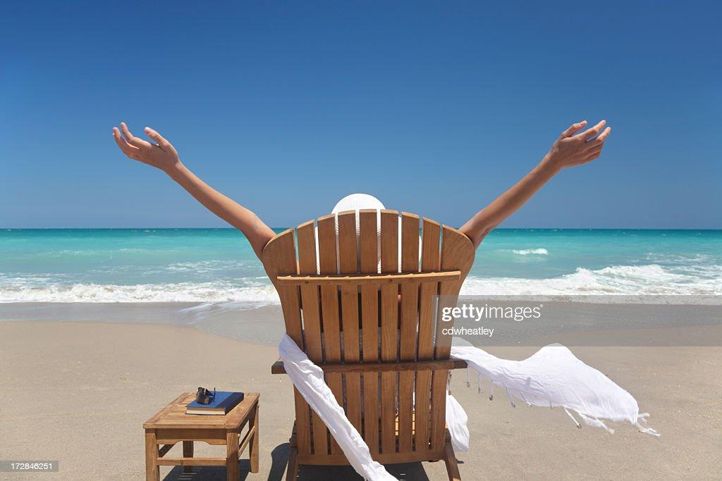 woman full of joy : Stock Photo