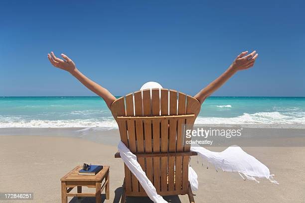 woman full of joy - gulf coast states stockfoto's en -beelden