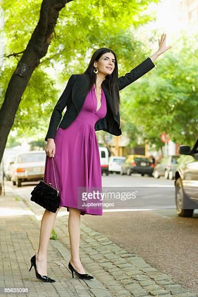 Woman gesturing