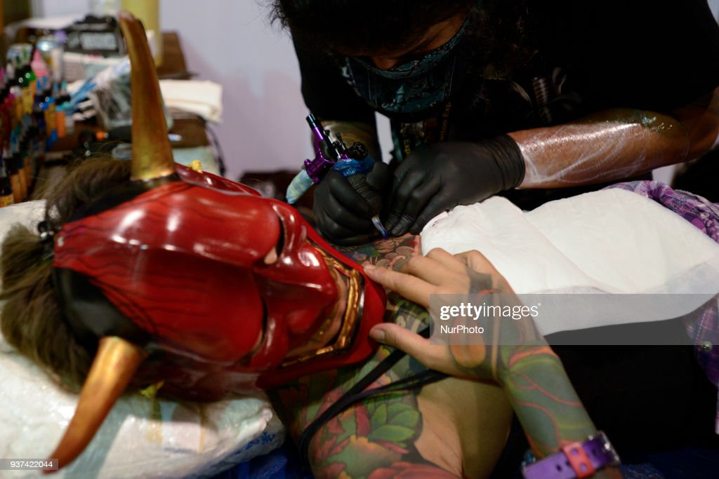 Professional tattoo Expo 2018 in Bangkok