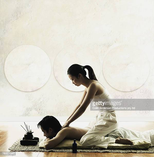 Full Body Massage For Men By Women Stock Photos And -7642