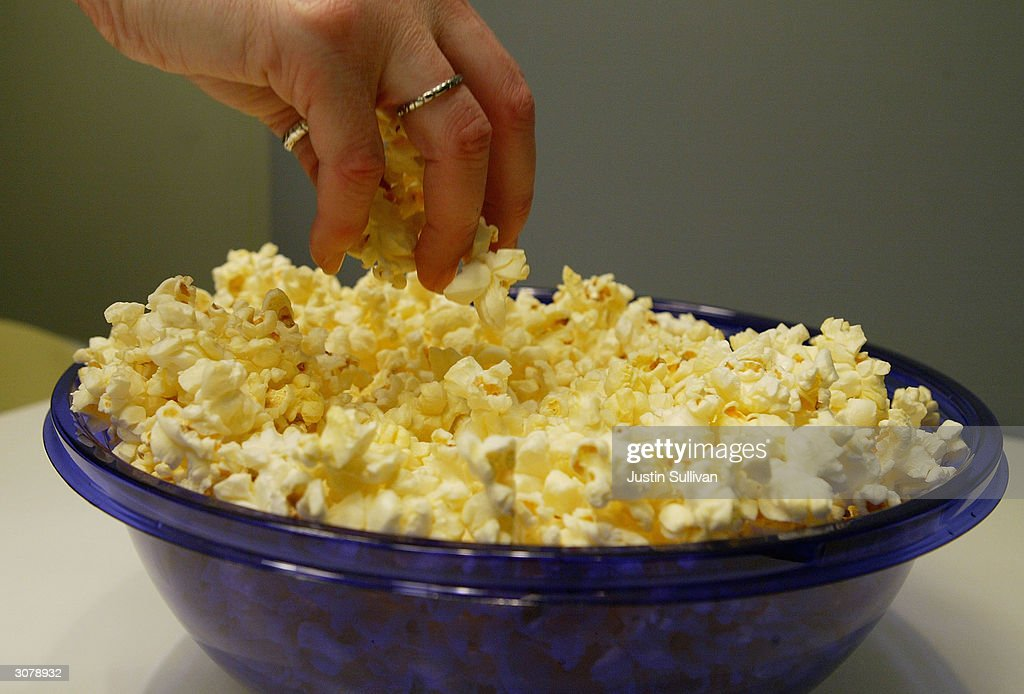 Chemical In Microwave Popcorn Fumes Linked To Rare Lung Disease : News Photo