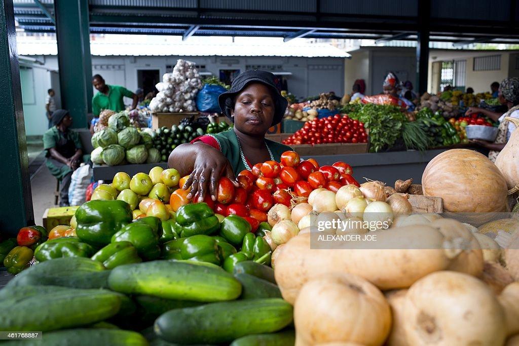 MOZAMBIQUE-MARKET-FEATURE : News Photo