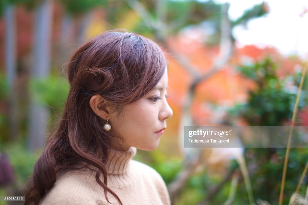Woman having an anxiety : Stock Photo