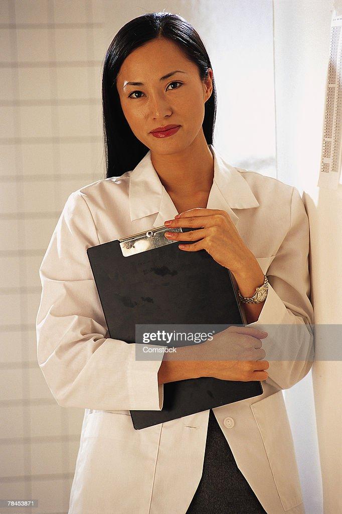 Woman healthcare professional : Stockfoto