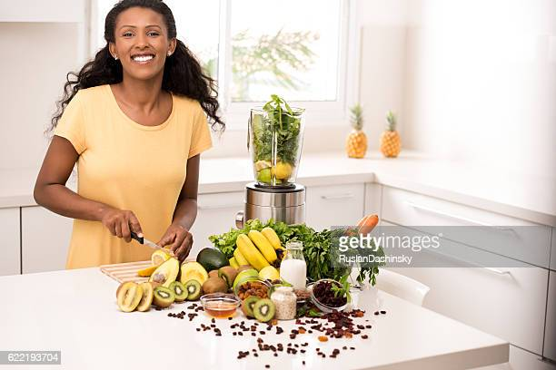 Woman healthy eating lifestyle.