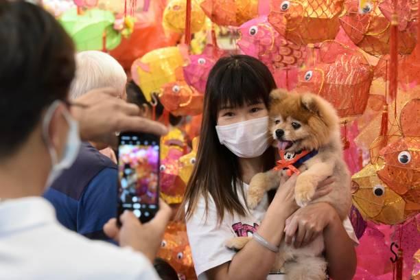 CHN: Hong Kong Welcomes Mid-Autumn Festival