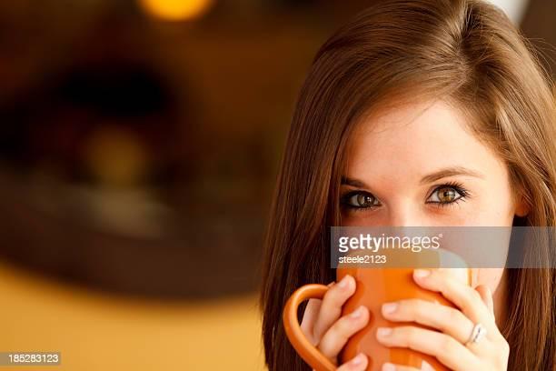 彼女のコーヒーをお楽しみいただけます。