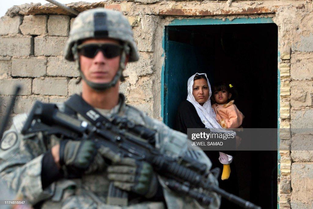 IRAQ-US-UNREST : News Photo