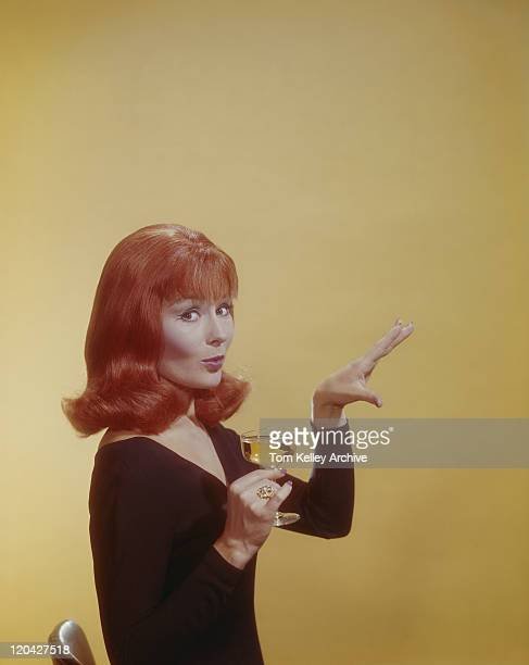 woman holding wine glass, portrait - 1965 stock pictures, royalty-free photos & images