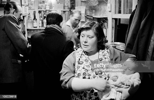 A pub in the Black Country West Midlands January 1961