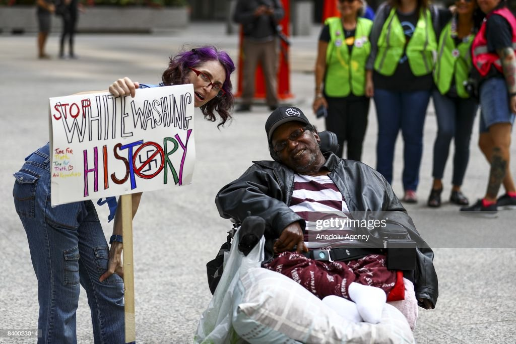 Protest Against Racism and Hate in Chicago  : News Photo
