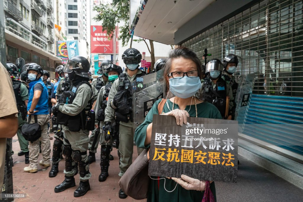 Hong Kong Marks 23 Years After Its Handover To China : News Photo