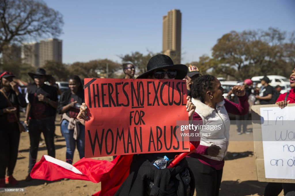 SAFRICA-MARCH-GENDER-VIOLENCE : News Photo