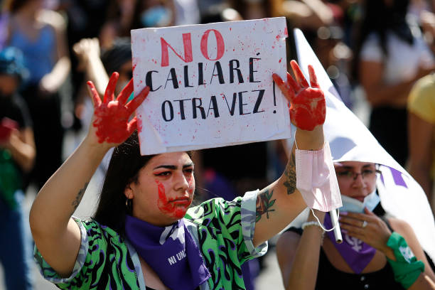 CHL: Women Rally In Santiago For Legal Abortion And Other Issues On International Women's Day