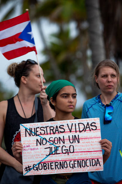 PRI: Puerto Ricans Continue To Protest Against Government After Unused Hurricane Relief Supplies Were Found In Warehouse