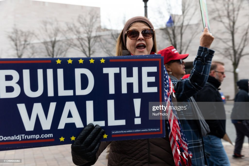 DC: 'We Will Fund That Wall' - Rally in Washington