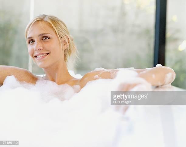 Mulher em uma Banheira