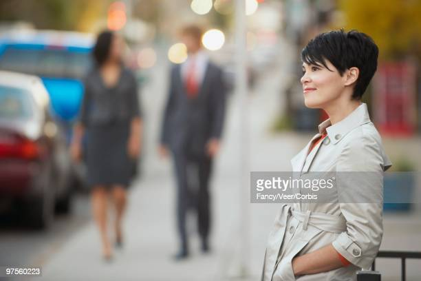 Woman in a City