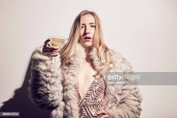 Woman In A Nightclub