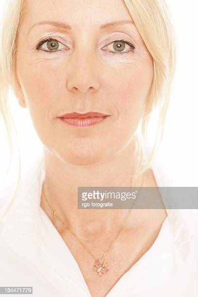 Woman, 49, in a spa room