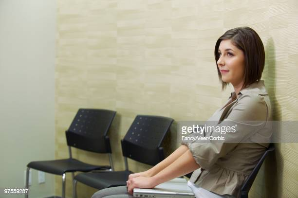 Woman in a Waiting Room