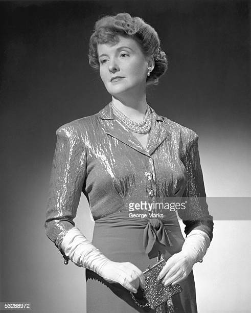 woman in an evening gown - man made age stock pictures, royalty-free photos & images