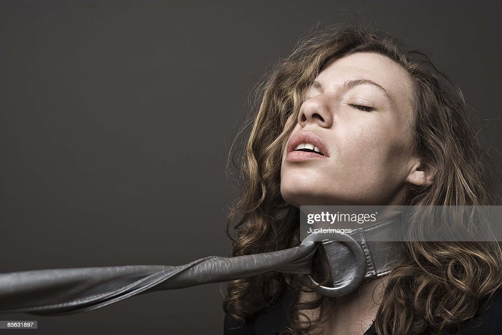 Woman in bondage : Stock Photo