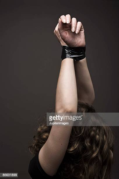 Woman in bondage