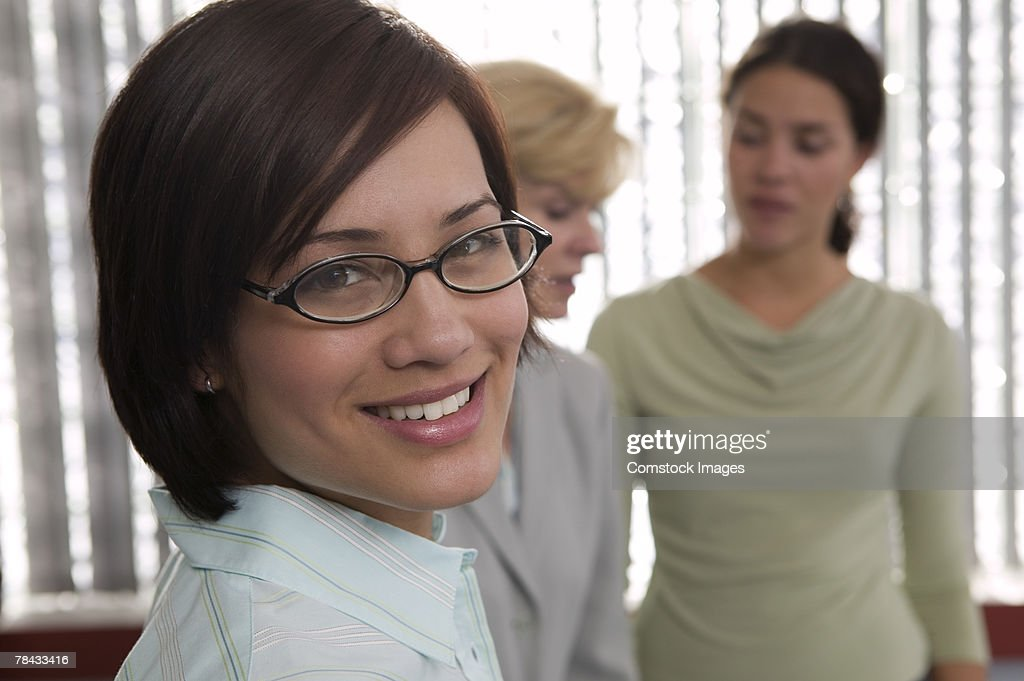 Woman in business attire : Stockfoto