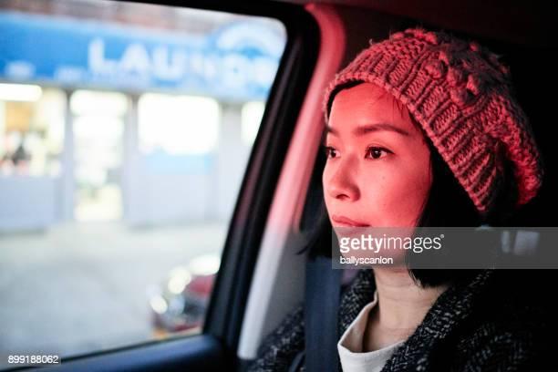 Woman In Car, Portrait