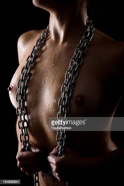 Woman in chain