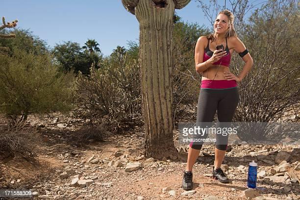 砂漠の女性をしてから